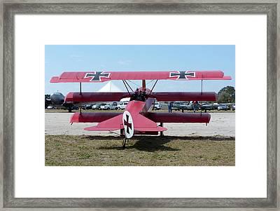 Fokker Dr.i Framed Print by Matt Abrams