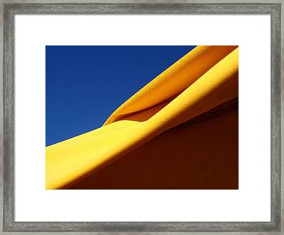 Fold Framed Print by David Pantuso