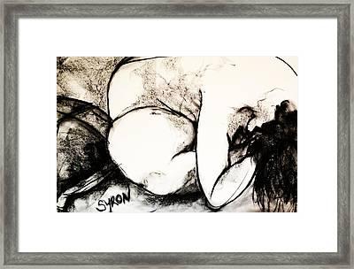 Fold Framed Print by Helen Syron
