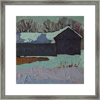 Foley Mountain Farm Framed Print