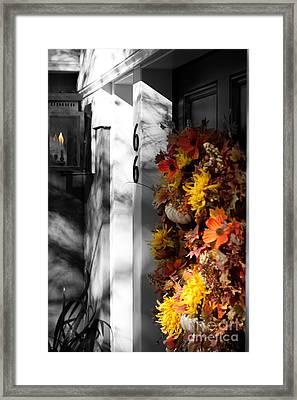 Foliage Framed Print by Jessica Baker