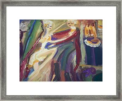 Folie A Deux Framed Print by Judith Desrosiers