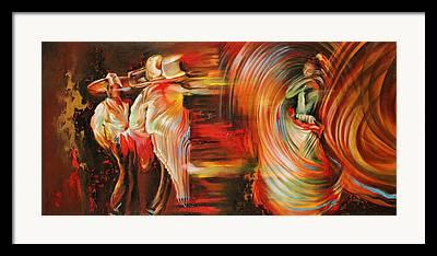 Folkloric Framed Prints