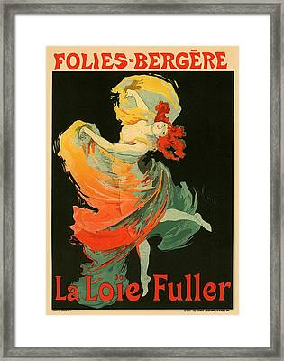 Follies Bergere Framed Print