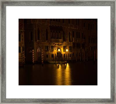 Follow Me Across The Water And Time Framed Print