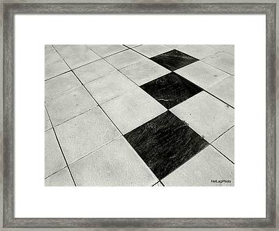 Follow Me Framed Print by Helena Lagartinho