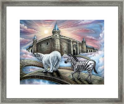 Follow Me Framed Print by John Bower