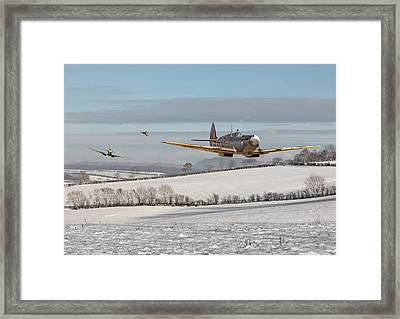 Follow My Leader Framed Print