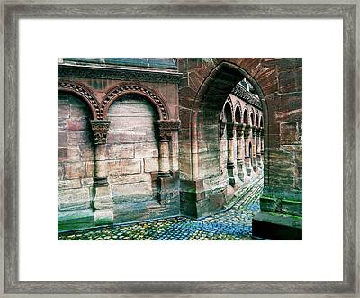 Follow The Arches Framed Print