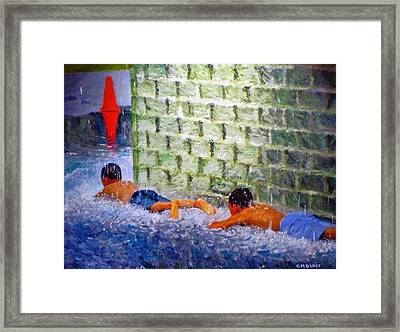 Follow The Leader Framed Print by Michael Durst