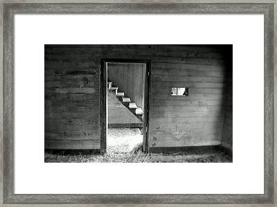 Follow The Light Framed Print by Karen Wiles