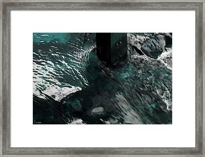 Framed Print featuring the photograph Follow The Tao by Lauren Radke