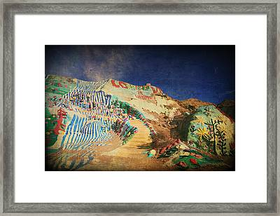Follow The Yellow Brick Road Framed Print by Laurie Search