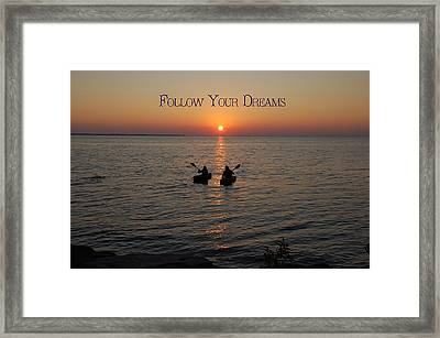 Follow Your Dreams Framed Print by Aimee L Maher Photography and Art Visit ALMGallerydotcom