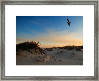 Framed Print featuring the photograph Follow Your Dreams by Laura Ragland
