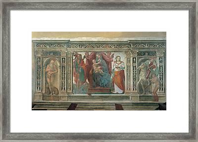 Follower Domenico Di Giacomo Di Pace Framed Print
