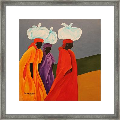Following Anna Framed Print by Patricia Brintle