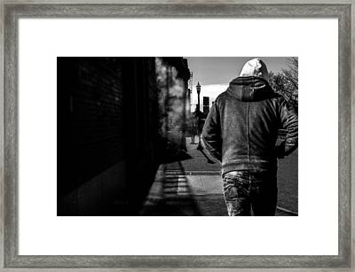 Following Framed Print