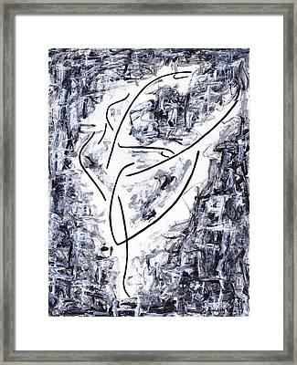 Following Her Passion Framed Print by Kamil Swiatek