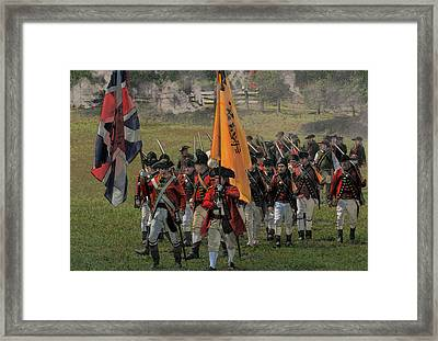 Following The Colors Framed Print by William Coffey