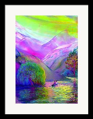 Canoeing Framed Prints