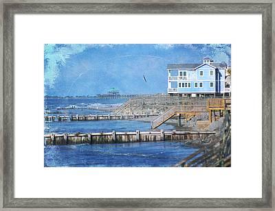 Folly Beach Framed Print