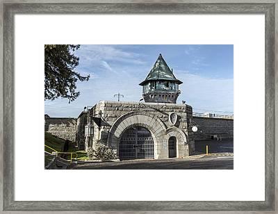 Folsom Prison In Folsom Framed Print by Carol M Highsmith