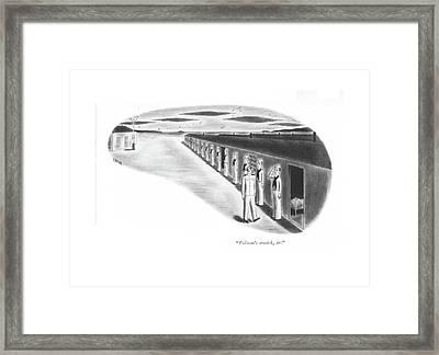 Folsom's Seasick Framed Print