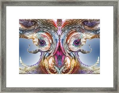 Fomorii Incubator Remix Framed Print by Otto Rapp