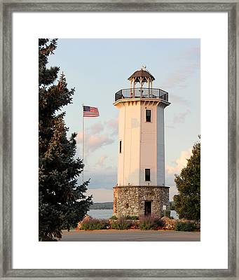 Fond Du Lac Lighthouse  Framed Print