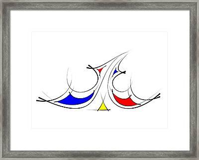 Fondness Framed Print