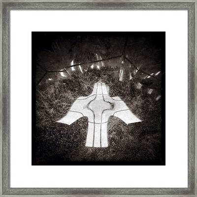 Font Angel Framed Print by Dave Bowman