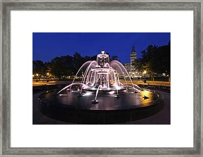Fontaine De Tourny Framed Print