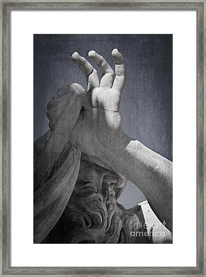 Fontana Dei Quattro Fiumi - River Nile Framed Print by Rod McLean
