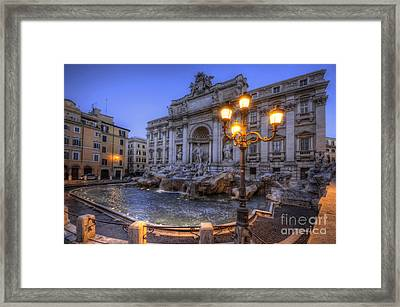 Fontana Di Trevi 3.0 Framed Print
