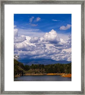 Fontana Lake Storm 2 Framed Print