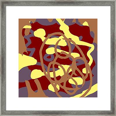 Fontepx Abstraction20 Framed Print