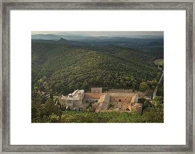 Fontfroide Abbey Framed Print by Bob Gibbons