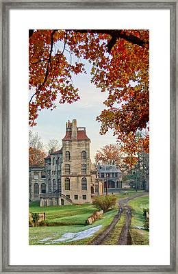 Fonthill Castle In The Fall Framed Print