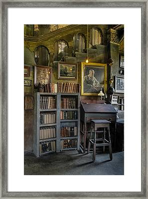 Fonthill Castle Saloon Framed Print by Susan Candelario