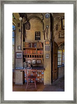 Fonthill Castle Study Framed Print by Susan Candelario