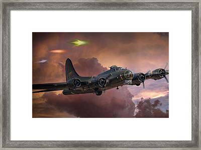 Foo Fighter Framed Print by Peter Chilelli