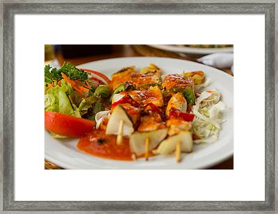 Framed Print featuring the photograph Food - Bali by Matthew Onheiber