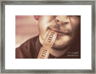 Food And Drink Festival Framed Print by Jorgo Photography - Wall Art Gallery