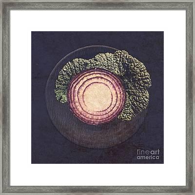 Food Art 01 Framed Print by Aimelle