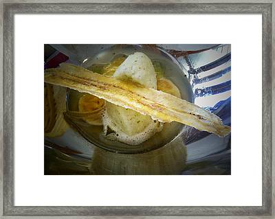 Food As Art Framed Print
