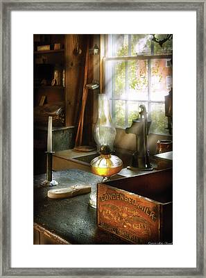 Food - Borden's Condensed Milk Framed Print by Mike Savad