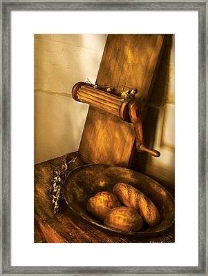 Food -  Bread  Framed Print by Mike Savad