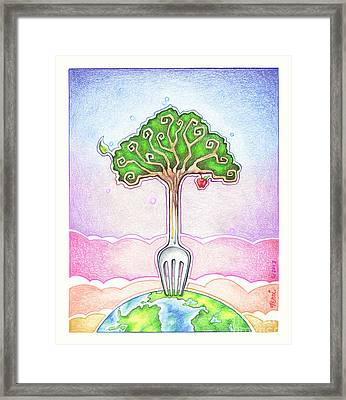 Food For Life Framed Print