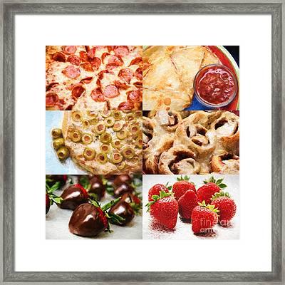 Food Glorious Food 1 Framed Print